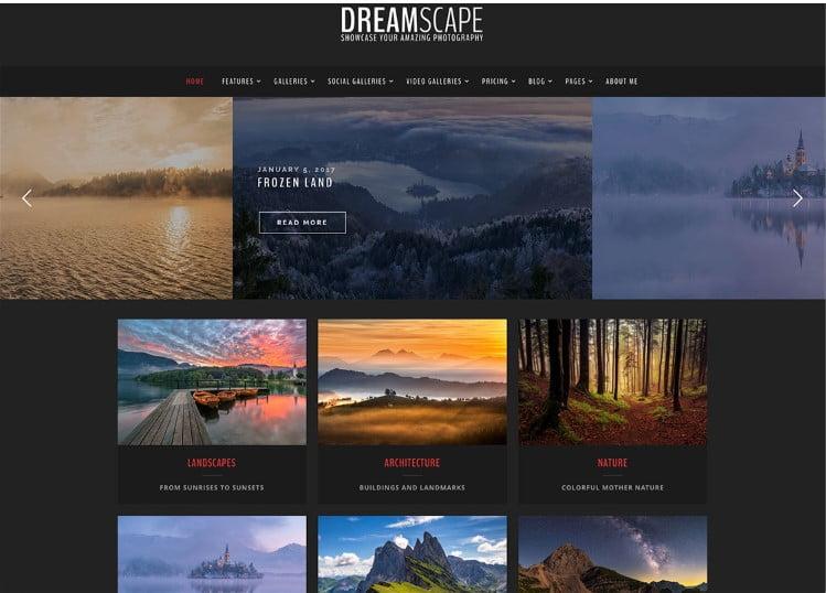 Dreamscape - Top 60+ News Magazine WordPress Themes [year]