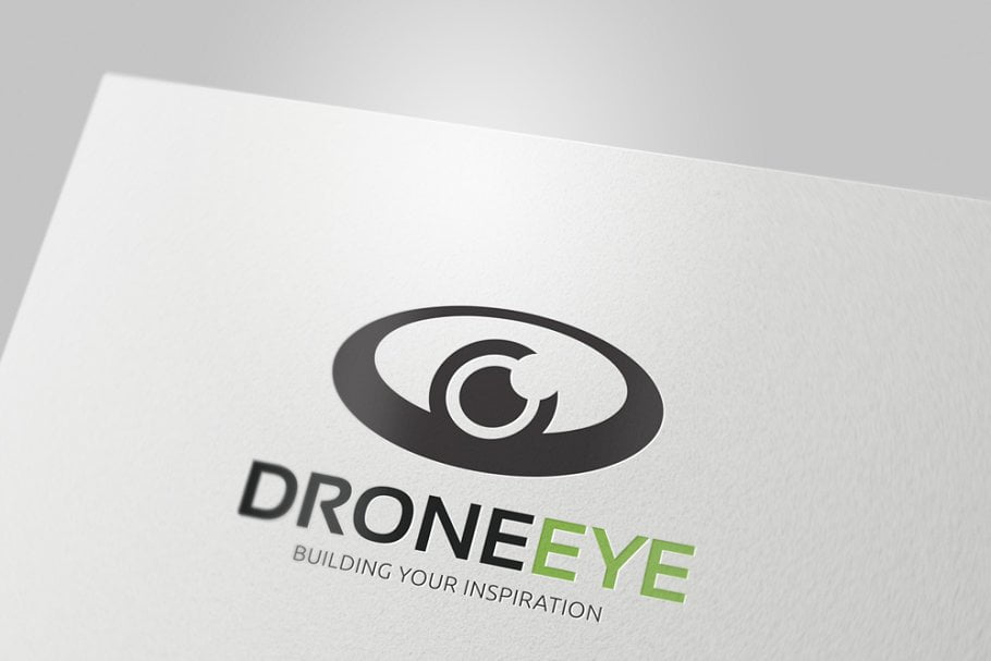 Drone-Eye - 35+ Awesome Eye Logo Design Templates [year]