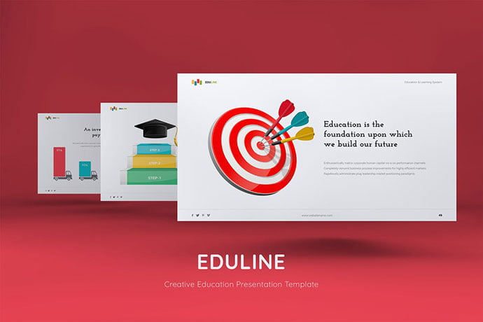 EDULINE - 30+ PowerPoint Templates for School or College [year]
