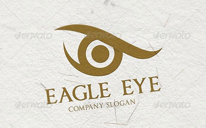 Eagle-Eye-Logo - 35+ Awesome Eye Logo Design Templates [year]