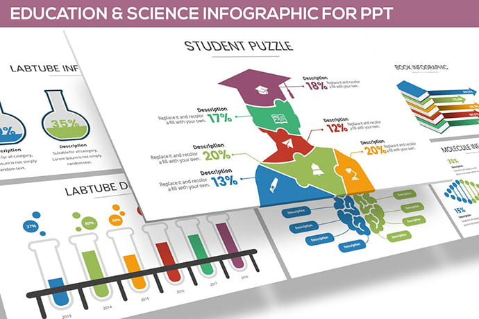 Education-Science - 30+ PowerPoint Templates for School or College [year]