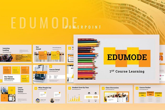 Edumode - 30+ PowerPoint Templates for School or College [year]