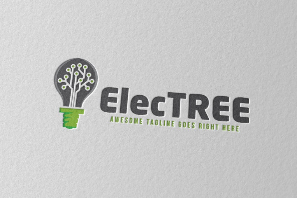Electree - 60+ Strong Tree Logo Design Templates [year]