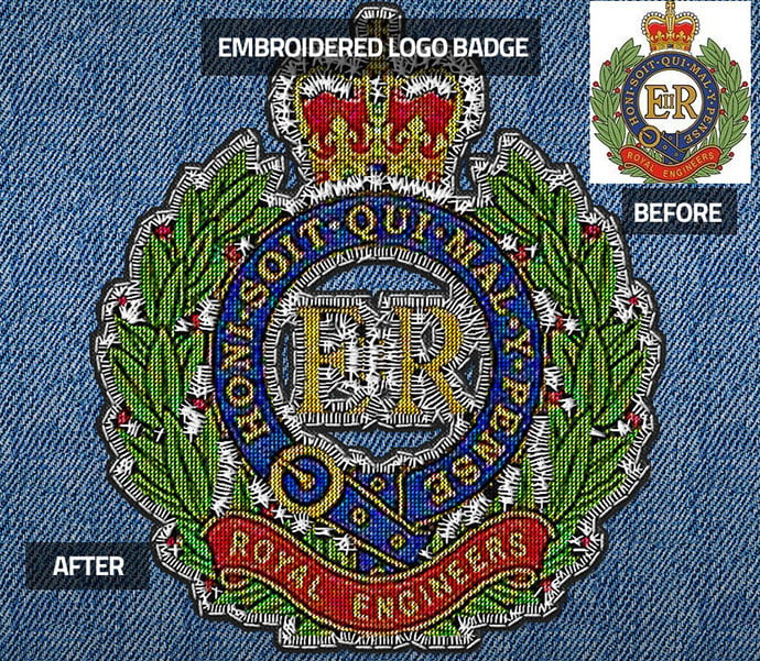 Embroidered-Logo-Badge-Photoshop-Action - 30+ Embroidery Effect Photoshop Actions & Brushes