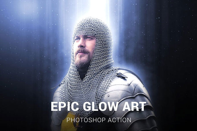 Epic-Glow-Photoshop-Action - 35+ Attractive Glow Effect Photoshop Actions