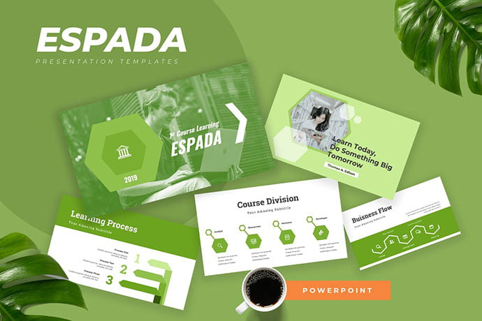 Espada - 30+ PowerPoint Templates for School or College [year]