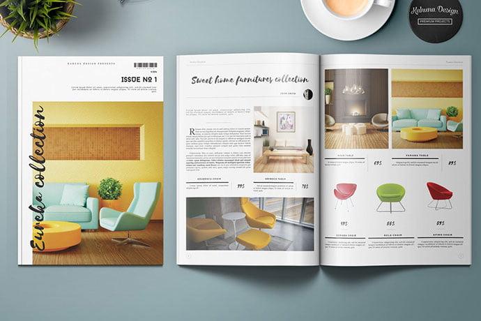 Eureka-Product-Catalog - 35+ Best Interior & Furniture Catalog Templates [year]