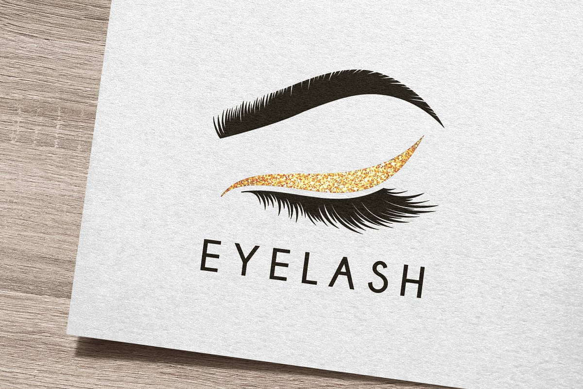 Eye-Lash-Logo - 35+ Awesome Eye Logo Design Templates [year]