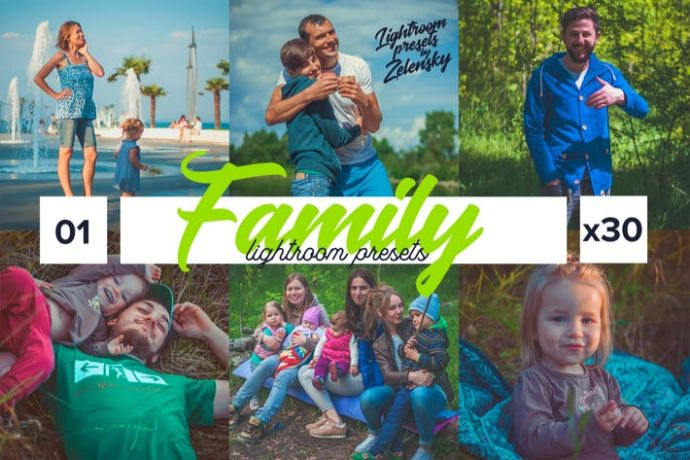 Family-Lightroom-Presets - 75+ Awesome Lightroom Creative Digital Photography [year]
