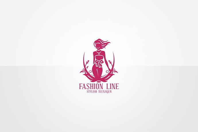 Fashion-Logo-Template - 50+ Stunning Beauty Salon Logo Design Templates [year]