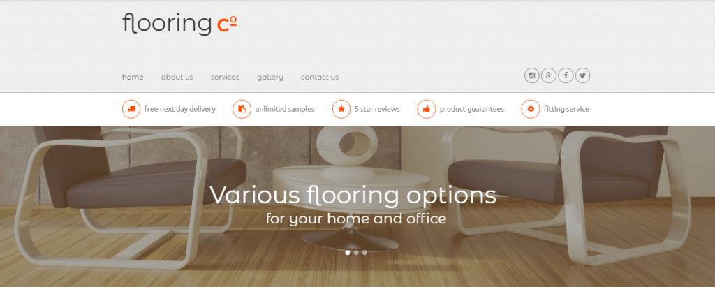 Flooring-Co.-1 - 60+ HTML Interior & Furniture Website Templates [year]