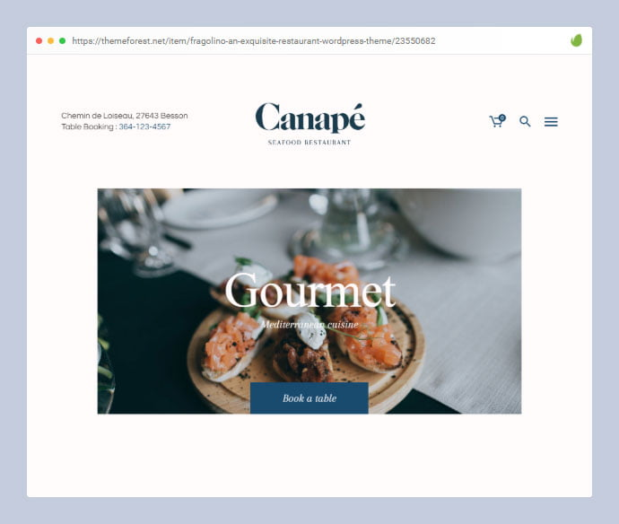 Fragolino - 35+ Minimal WordPress Theme Designs For Creatives [year]