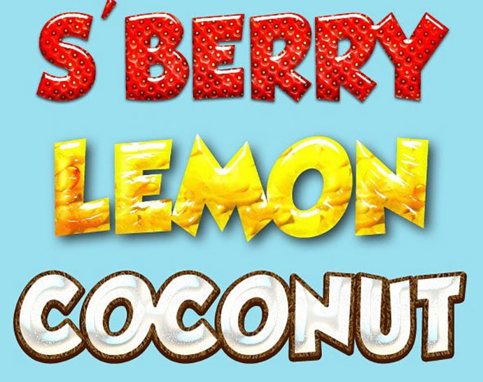 Fruit-Styles - 35+ Tasty Food & Drink Photoshop Text Effects