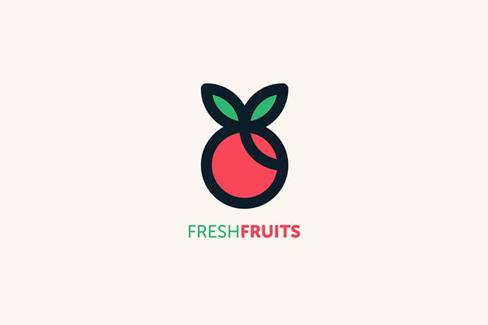 Fruit-Vegetable-Logo-Design-Templates - 30+ Stunning Fruit & Vegetable Logo Design Templates