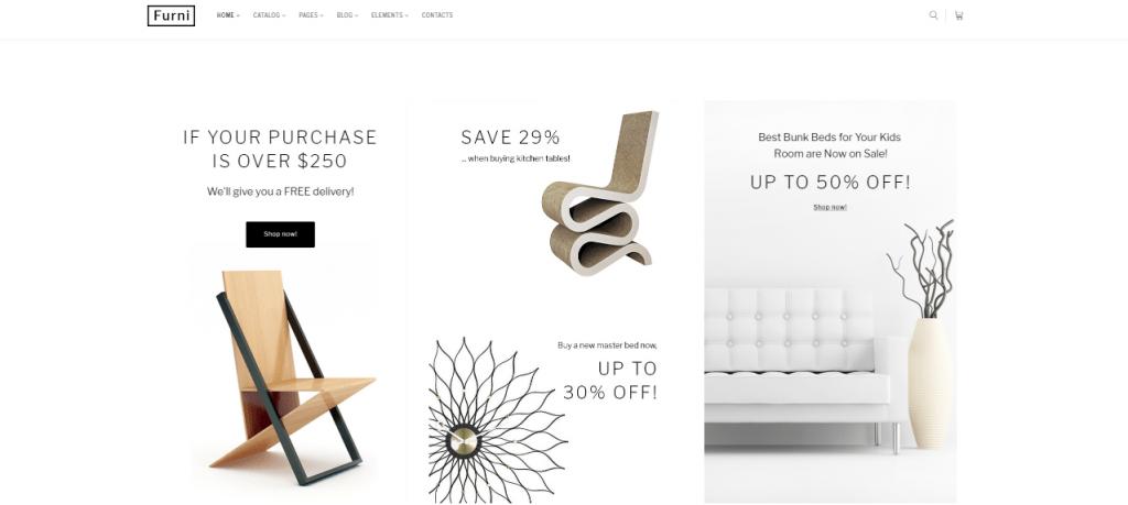 Furni - 60+ HTML Interior & Furniture Website Templates [year]