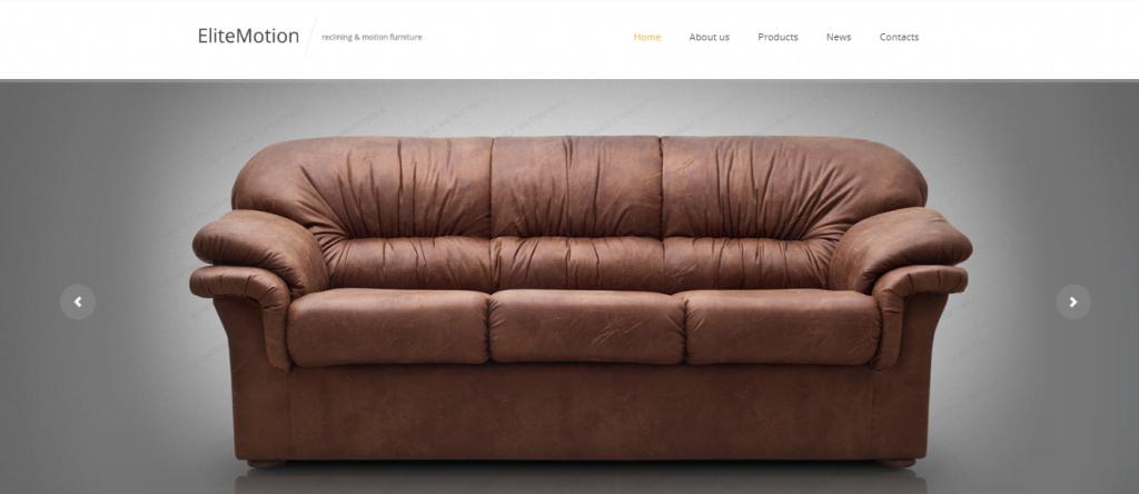 Furniture - 60+ HTML Interior & Furniture Website Templates [year]