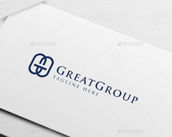 G-GG-Logo - 35+ Excellent Monogram Logo Design Templates