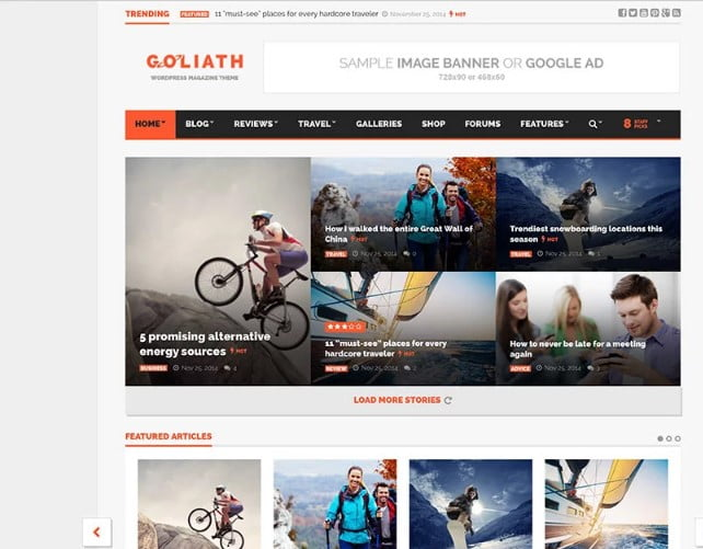 G - 46+ Best WordPress Newspaper Themes for News Sites [year]