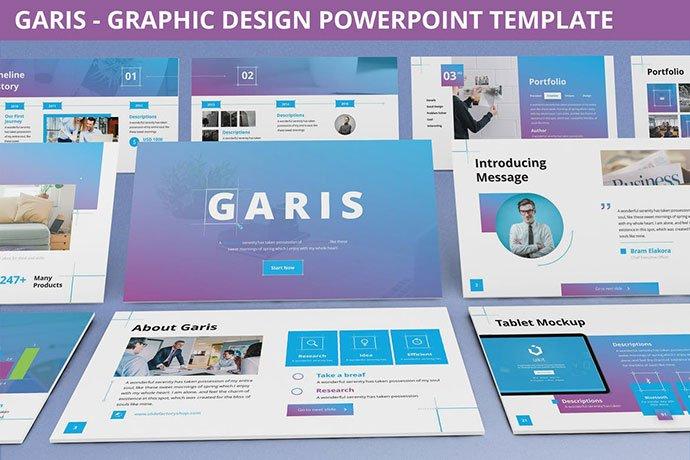 Garis - 35+ Blast of Bright PowerPoint Templates [year]