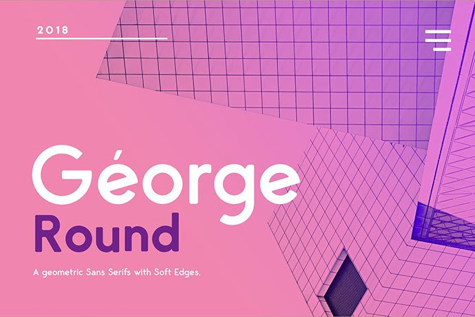 George-Rounded-Sans-Serif - 35+ Effective Fonts for Brochure Design [year]