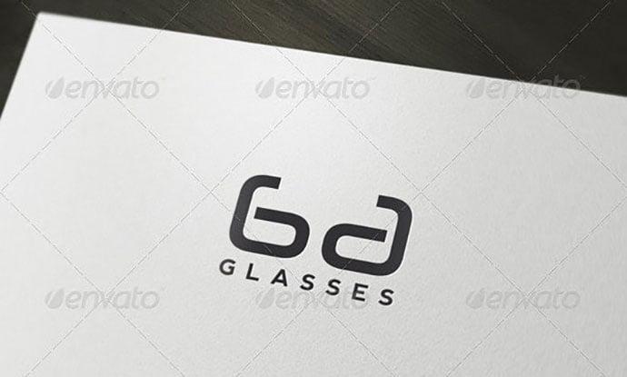 Glasses-Lenses-Logo - 35+ Awesome Eye Logo Design Templates [year]