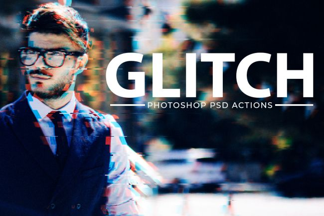 Glitch-Effect - 64+ FREE Amazing Photoshop Actions [year]