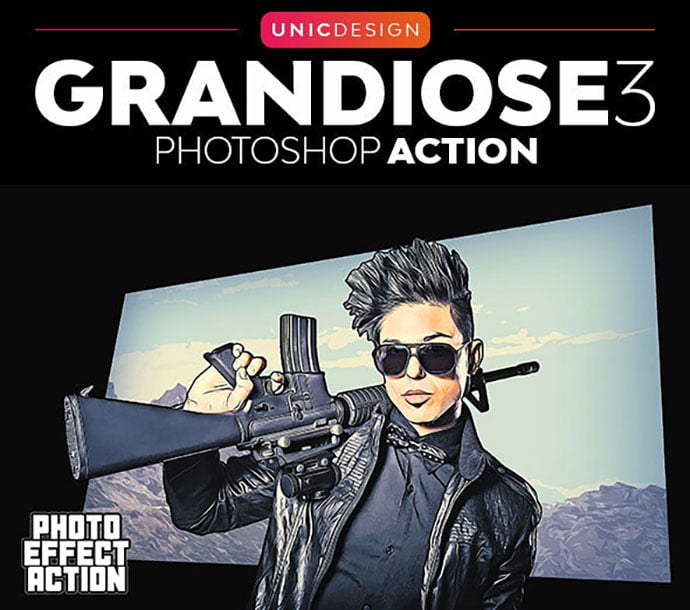 Grandiose-3-Animated-Photoshop-Action - 30+ Amazing Portrait Photoshop Actions [year]