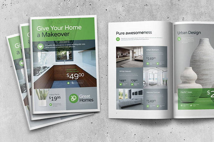 Great-Homes - 35+ Best Interior & Furniture Catalog Templates [year]
