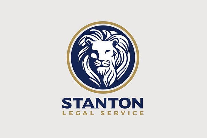Heraldic-Royal-Lion-Emblem-Logo - 35+ Amazing Heraldry Logo Design Templates [year]