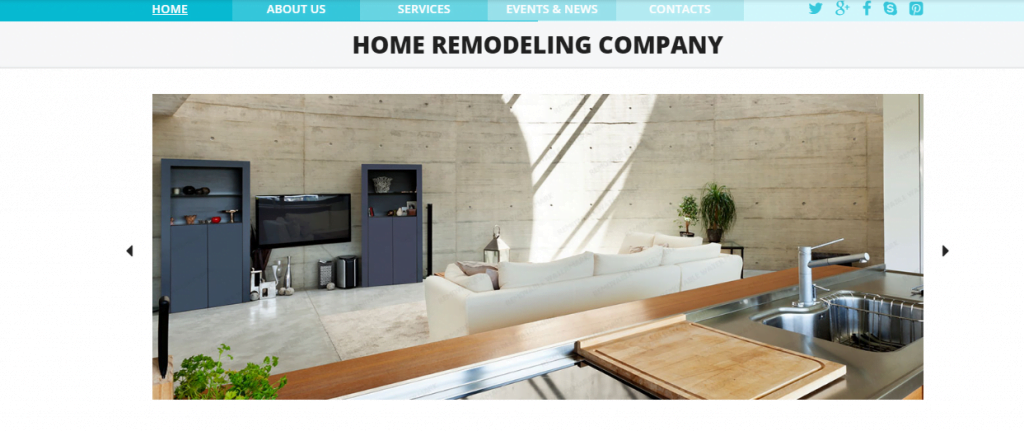 Home-Remodeling - 60+ HTML Interior & Furniture Website Templates [year]