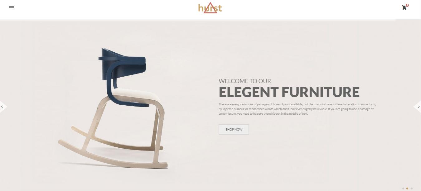 Hurst-1 - 60+ HTML Interior & Furniture Website Templates [year]