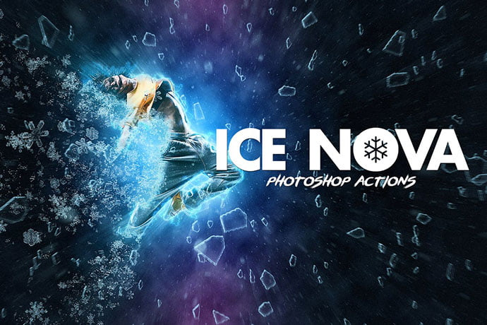 Ice-Nova-Photoshop-Action - 35+ Attractive Glow Effect Photoshop Actions