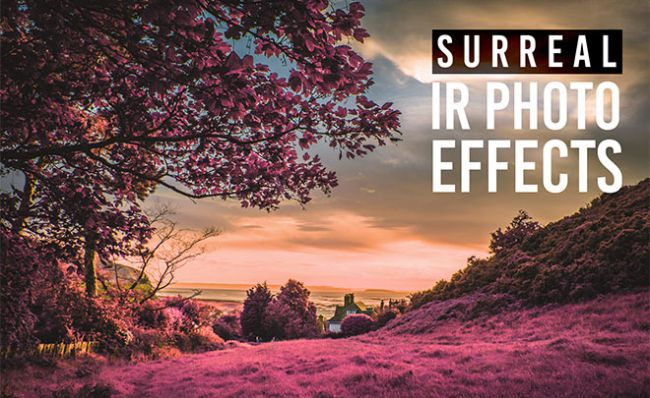 Infrared-Photo-Effect - 64+ FREE Amazing Photoshop Actions [year]