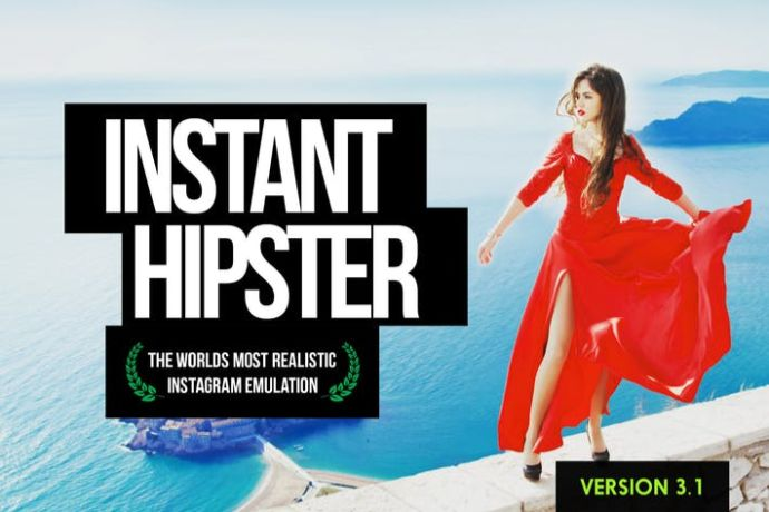 Instant-Hipster - 75+ Awesome Lightroom Creative Digital Photography [year]