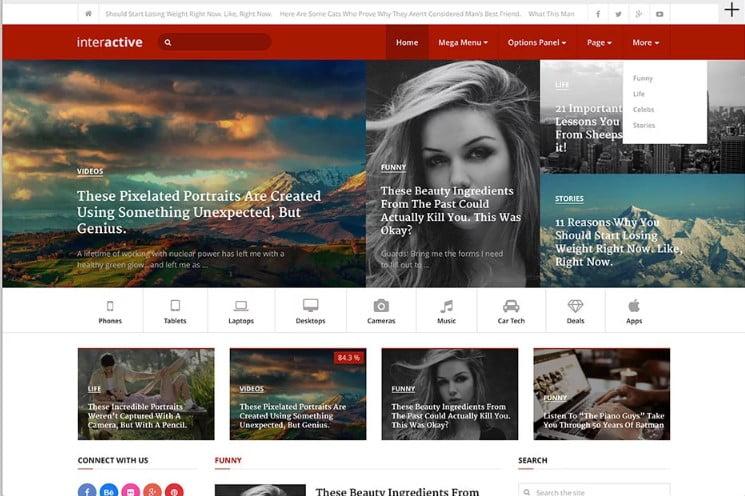 Interactive-4 - Top 60+ News Magazine WordPress Themes [year]