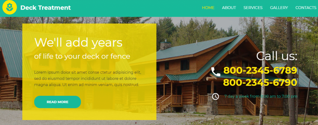 Interior-1 - 60+ HTML Interior & Furniture Website Templates [year]