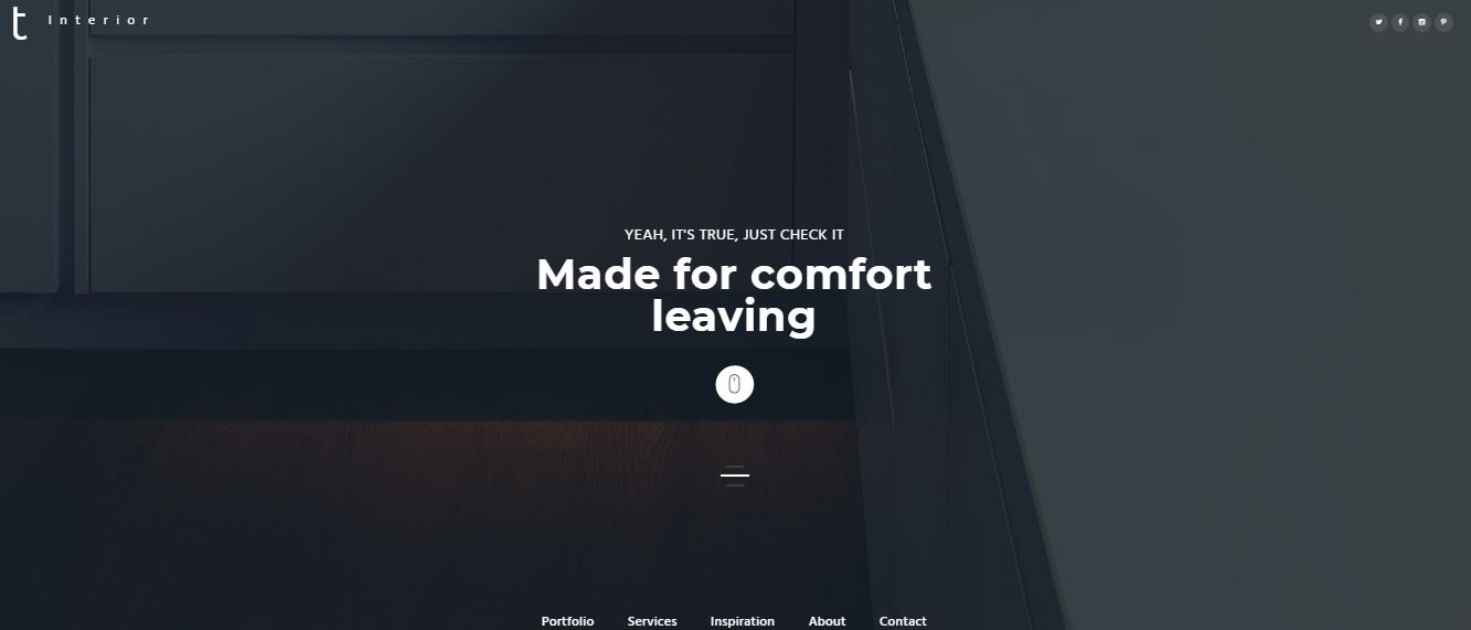 Interior-Furniture - 60+ HTML Interior & Furniture Website Templates [year]