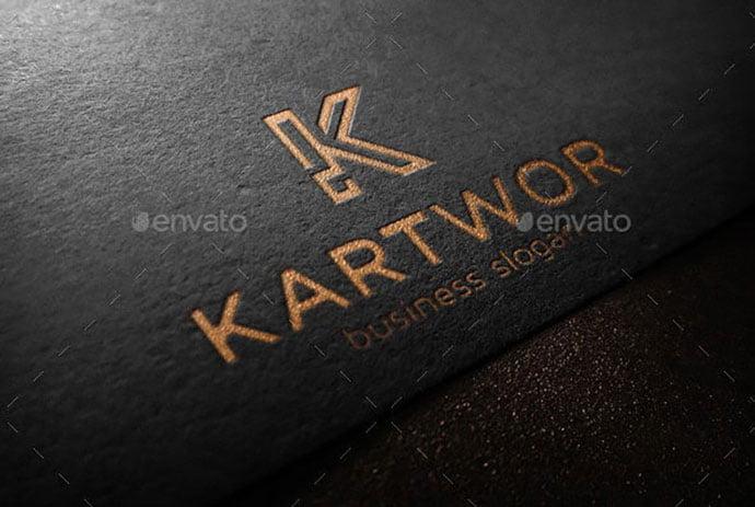 K-Logo-Monogram-Letter - 35+ Excellent Monogram Logo Design Templates [year]