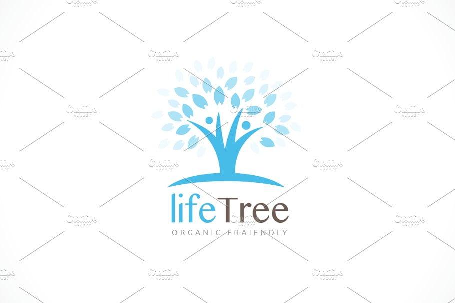 Life-Tree-1 - 60+ Strong Tree Logo Design Templates [year]
