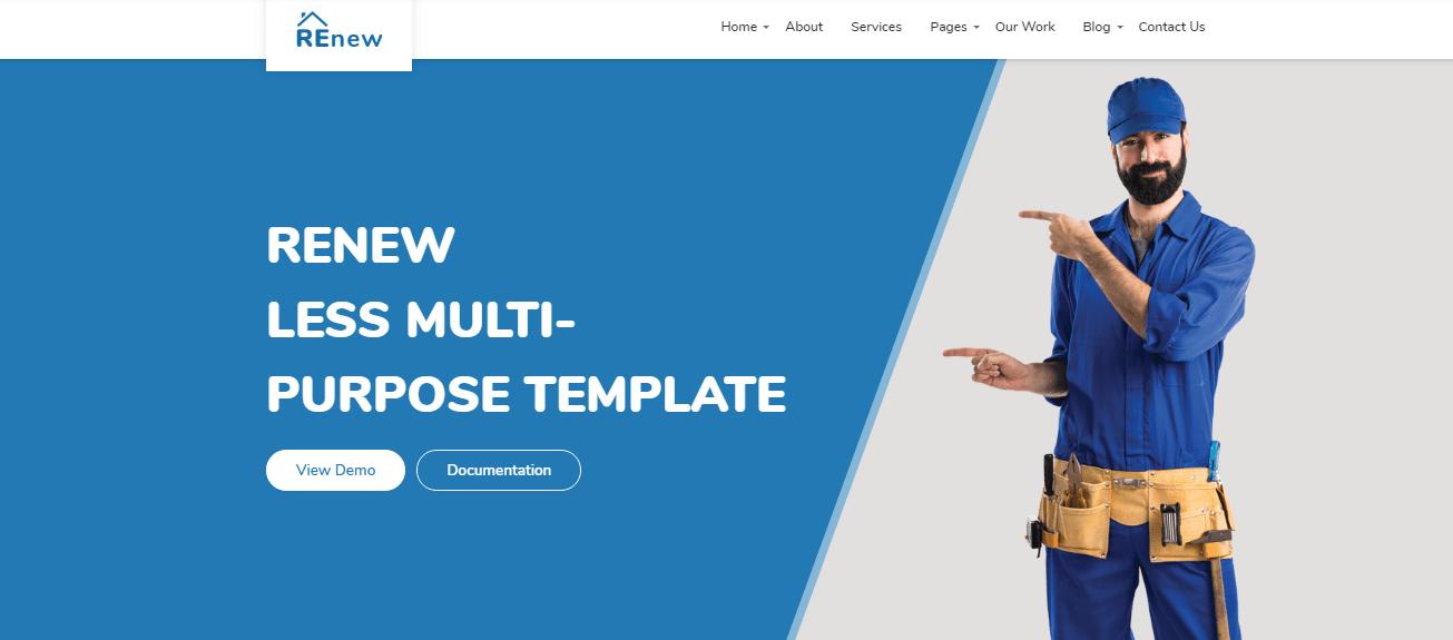 Ligothemes - 60+ HTML Interior & Furniture Website Templates [year]
