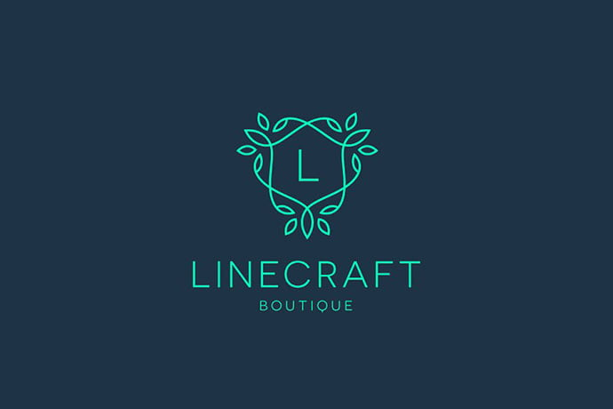 Linecraft-Boutique - 32+ Amazing Personal Logo Design Templates [year]