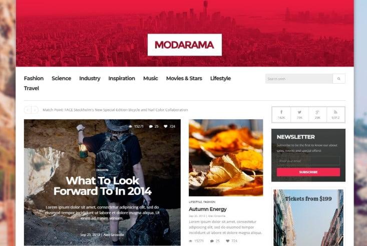Madorama - 45+ Responsive News Website Templates [year]