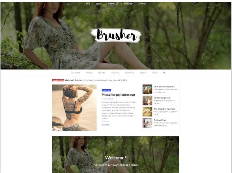 MagazineX-Lite - 42+ Best Free News Website Templates [year]