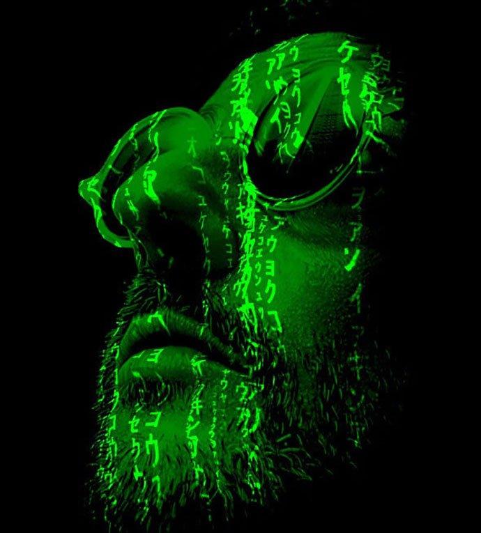 Matrix-Light-Cast-Photoshop-Action - 35+ Attractive Glow Effect Photoshop Actions [year]