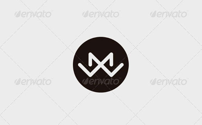 Matt-Willis-–-M-W-Letter-Logo - 35+ Excellent Monogram Logo Design Templates