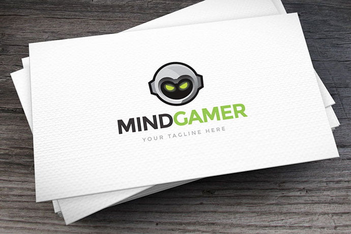 Mind-Gamer - 32+ Amazing Personal Logo Design Templates [year]