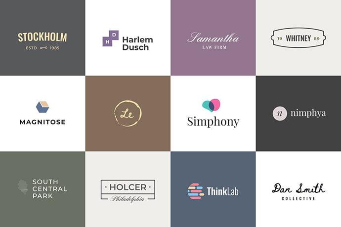 Minimalist-1 - 32+ Amazing Personal Logo Design Templates [year]