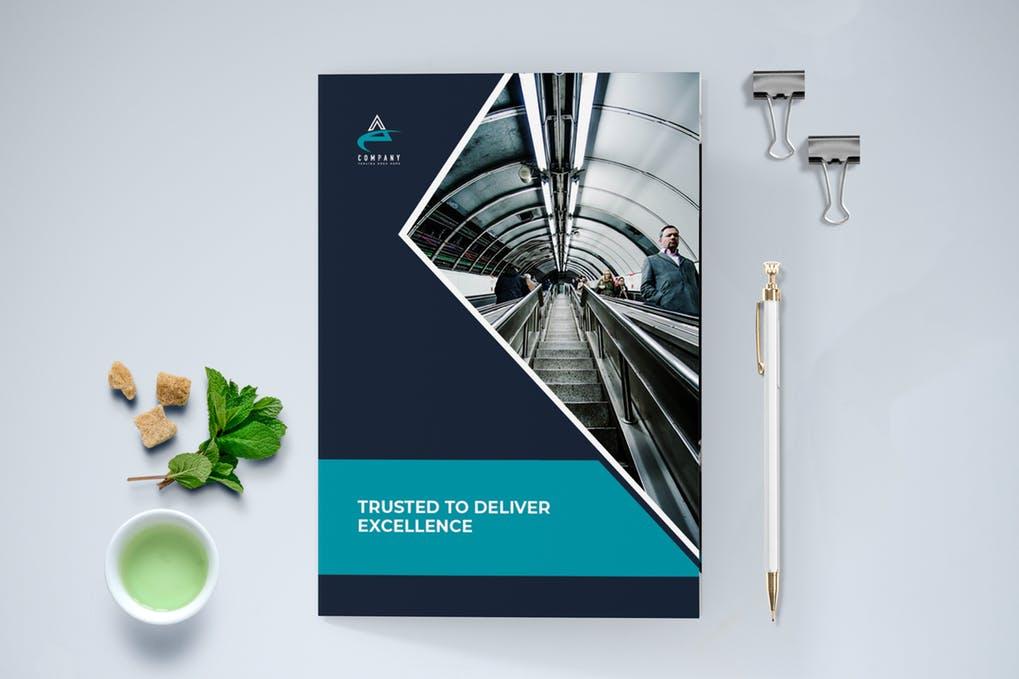 Modern-Business-Brochure-Bi-Fold - 60+ Bi-fold & Tri-fold Brochure Design Templates [year]