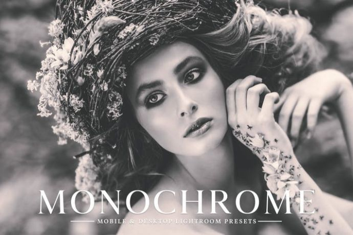 Monochrome - 75+ Awesome Lightroom Creative Digital Photography [year]
