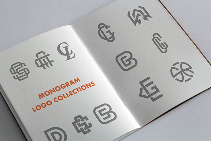 Monogram-Logo-Collections - 35+ Excellent Monogram Logo Design Templates